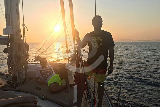 Sailing experience on Athens coast