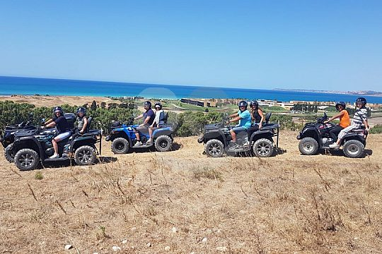 Abenteuerurlaub auf Sizilien mit Quad
