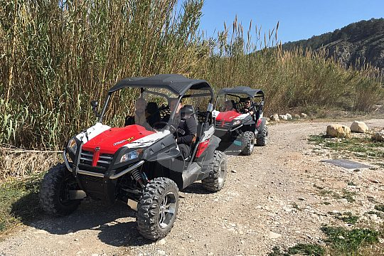 go offroad by ATV