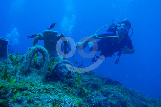 cycling and scuba diving in Rhodes