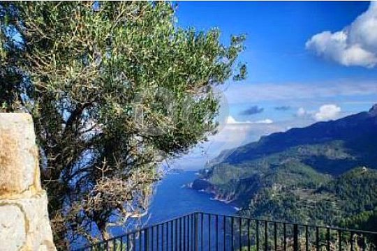 views west coast Mallorca