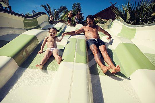 slides Tenerife Siam Park