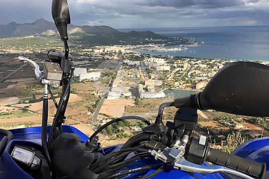 Views on the Quad Tour in Majorca