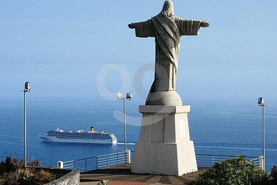 Christ stature on Madeira