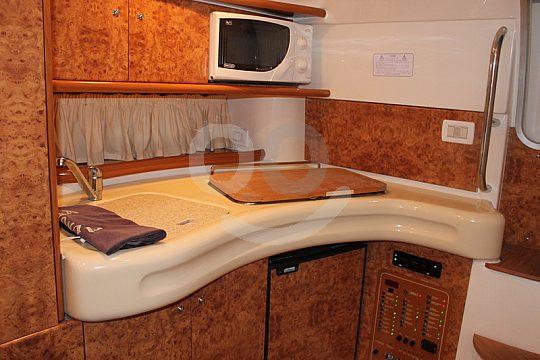 motor yacht inside