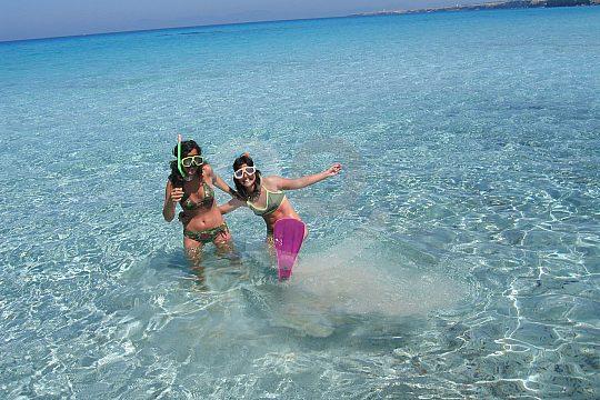 Snorkeling on Formentera