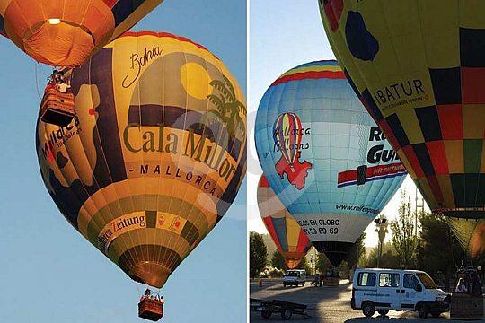 Ballooning iin Mallorca