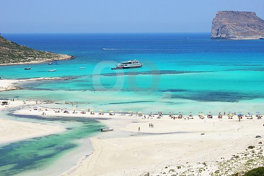 Crete full day tour to Balos and Gramvousa