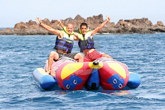 Bananaboat in southern Lanzarote