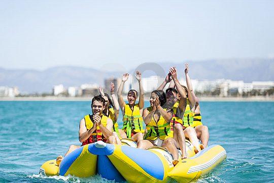 Banana boat on Mallorca
