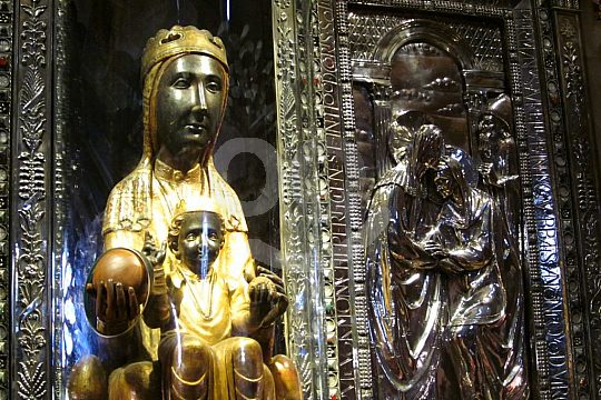 Madonna on Montserrat