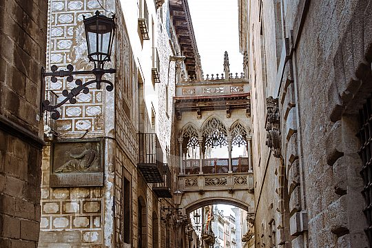 guided walking tour in Barcelona