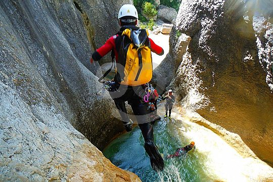 Canyoning in the Basque Country