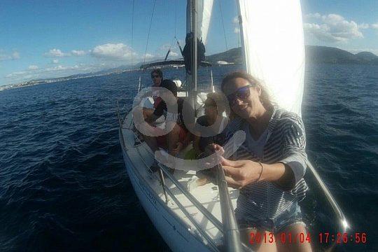 private sailing trip in Bilbao