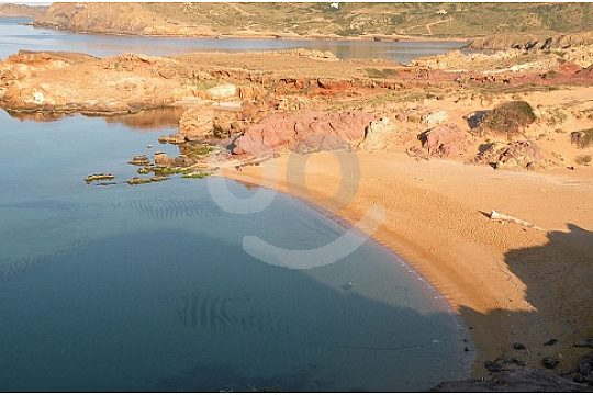 Discover coves at hiking in Menorca