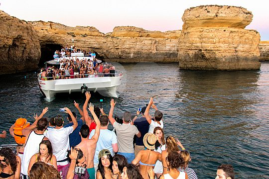 Great scenery for boat party