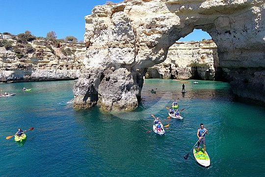 Kayaking and SUP in the Algarve