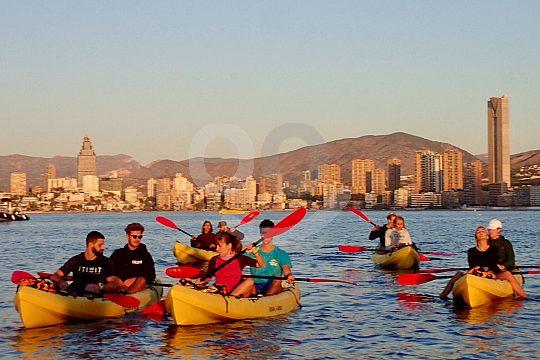 Mit dem Kayak an der Costa Blanca