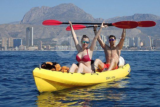 Costa Blanca per Kayak entdecken