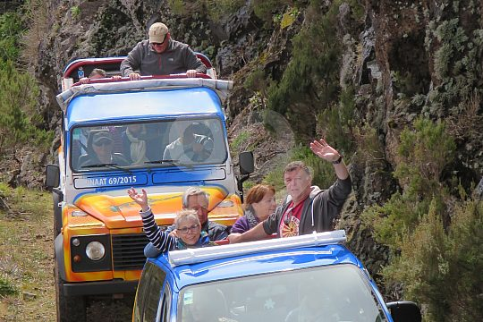 Jeeps in Madeira