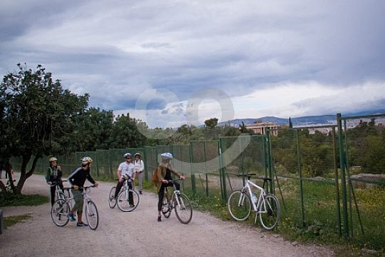 Athens exploration tour on two wheels