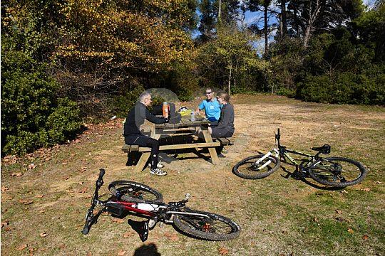 break mountain bike tour from Athens