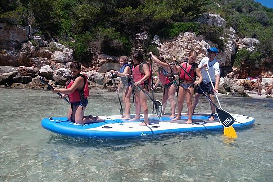 Big Stand Up Paddle in Menorca