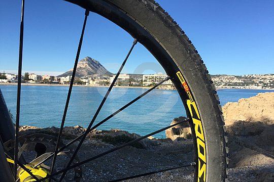 mountain bike tour at Costa Blanca