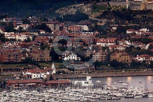 yachting harbour of Bilbao