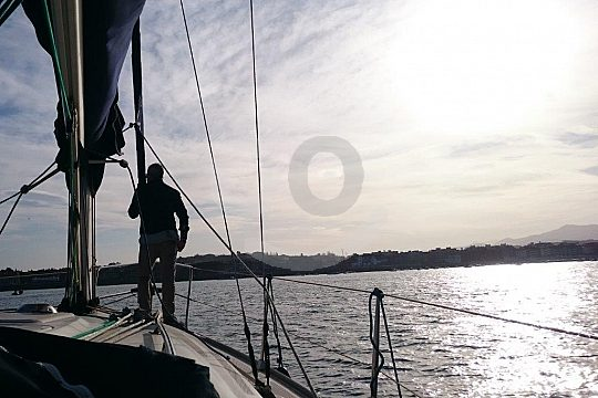 sail in front of Galea