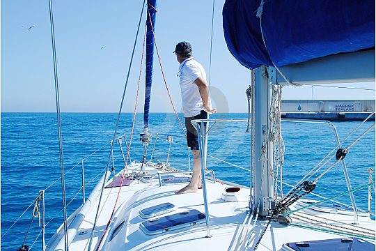 Sailing on the Costa del Sol with skipper