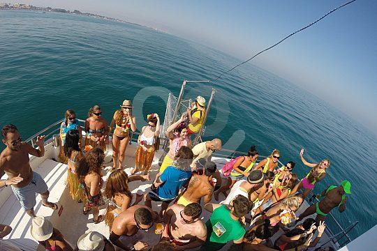 boat party Benalmádena Costa del Sol