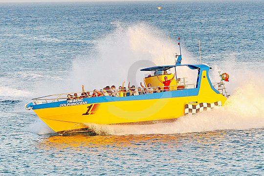 Algarve jet boat tour