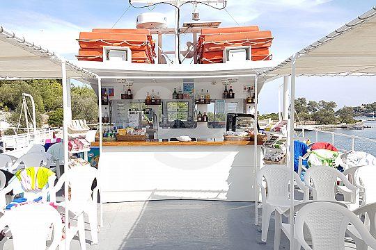 nice boat trip in greece