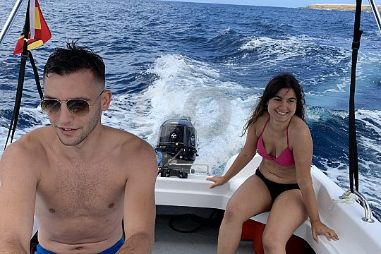 self driving by boat in tenerife