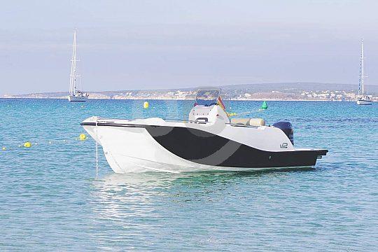 V2 Motorboot ohne Führerschein mieten
