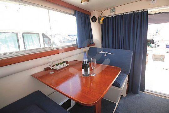 Luxurious interior cabin