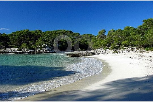 Beaches in Menorca by boat