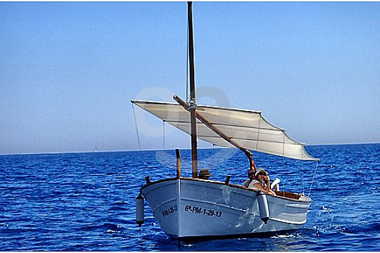 Boat trip on Mallorcan Llaut