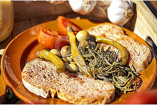 Majorcan food at the Portocolom boat charter