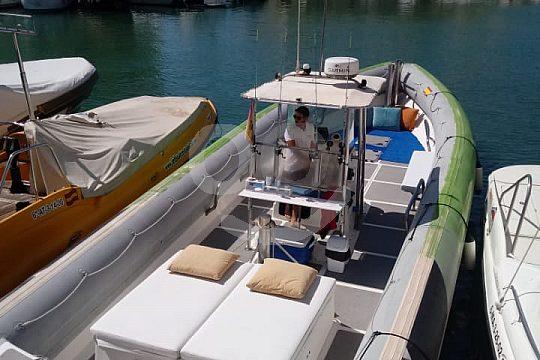 Boat in Spain near Malaga