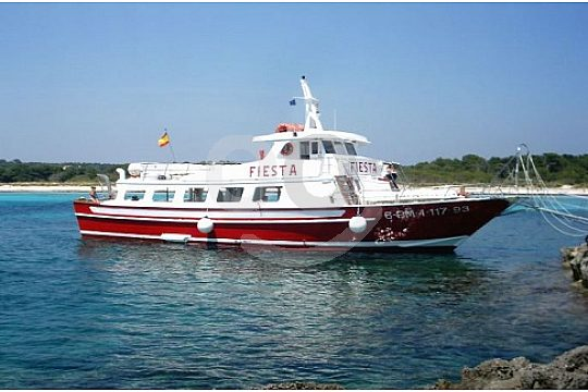 Book a boat trip in Menorca