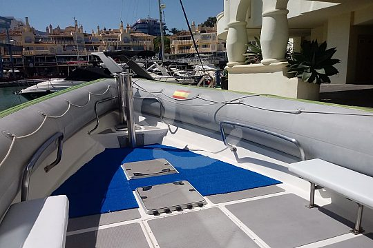 Boat in Spain near Marbella