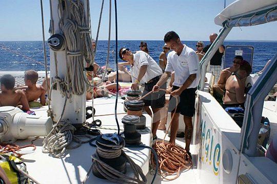 Sailing experience Costa Brava