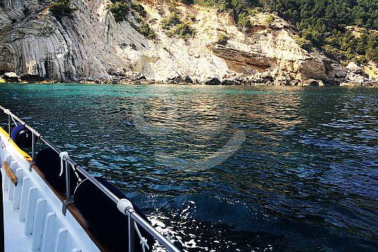 Boat trip in the north of Mallorca
