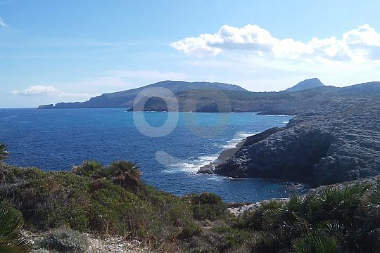the Levante coast in Mallorca