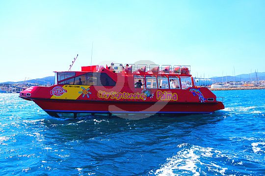 City Sightseeing Boat in Palma de Mallorca