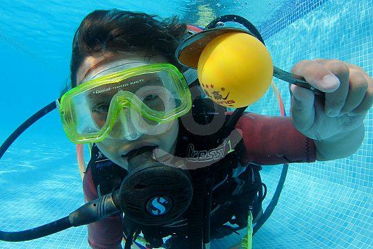 Bubblemaker dive course for children