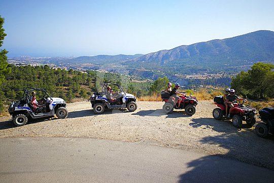 Abenteuer im Buggy an der Costa Blanca