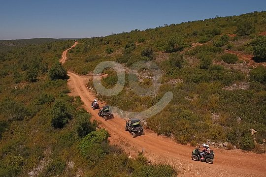 Quad and buggy tours single Albufeira